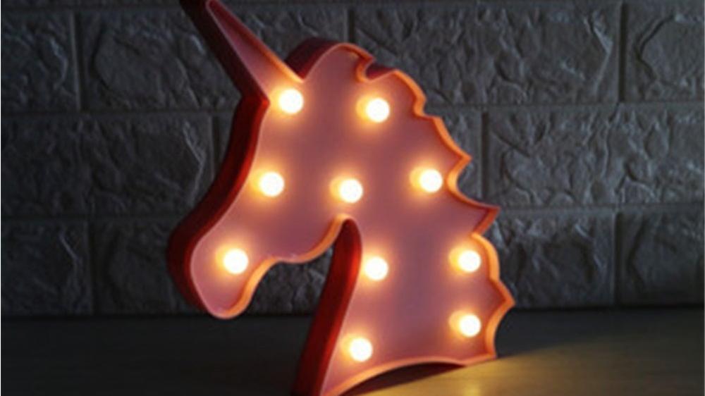 Einhorn-Lampe als Geschenk