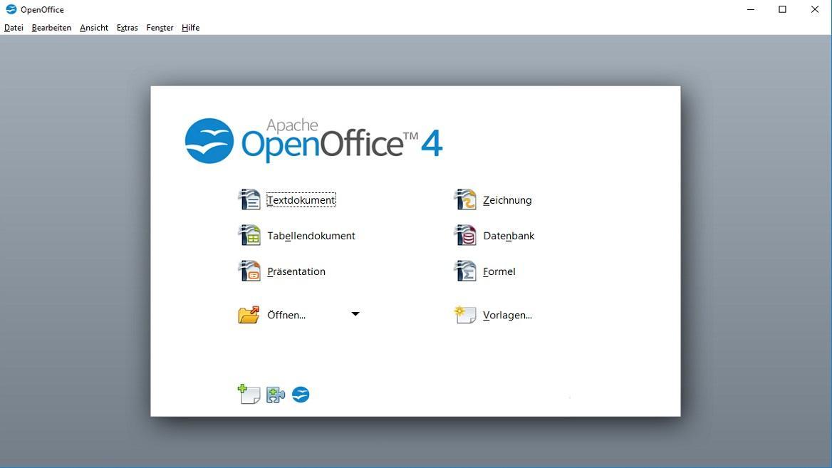 Alle Funktionen kostenlos: Schreibprogramm OpenOffice