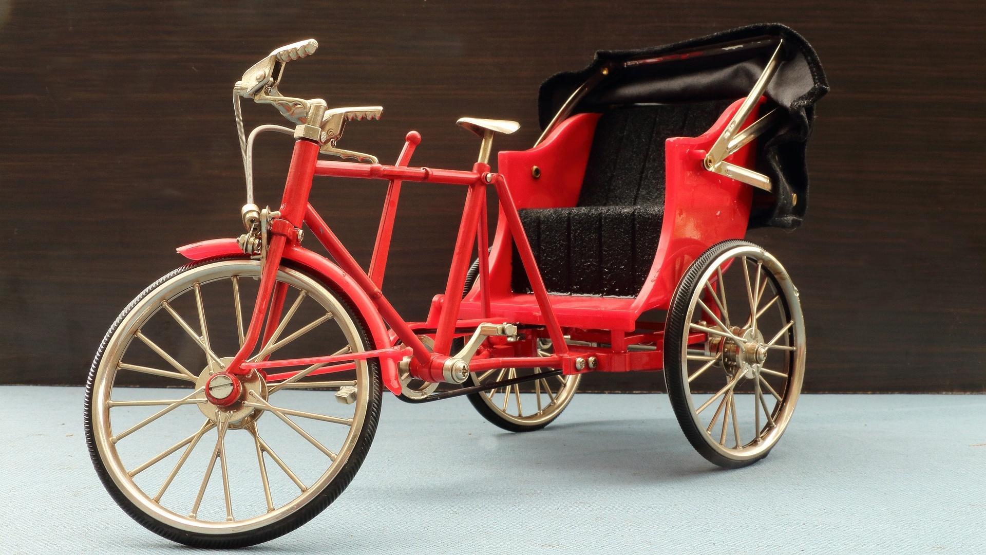Lastenfahrräder zum Personentransport werden vom BAFA nicht gefördert.