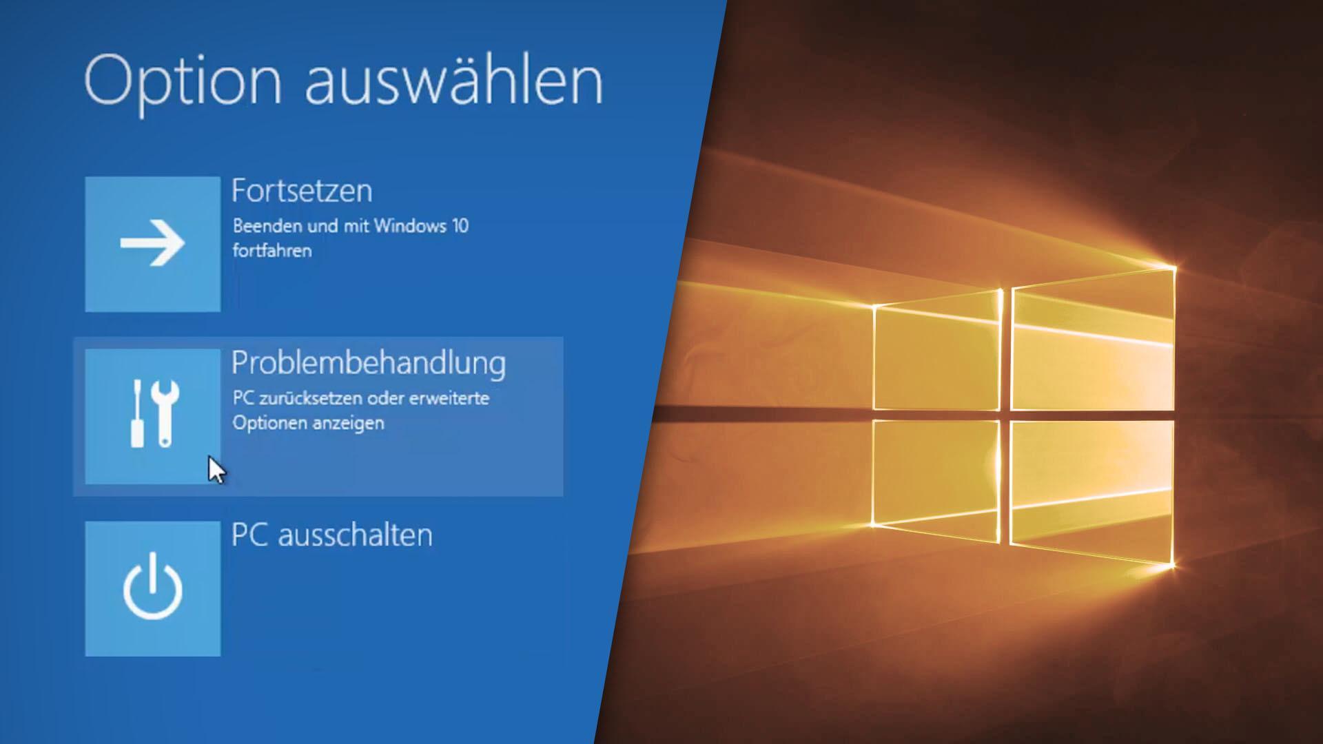 Windows 10: Abgesicherten Modus starten