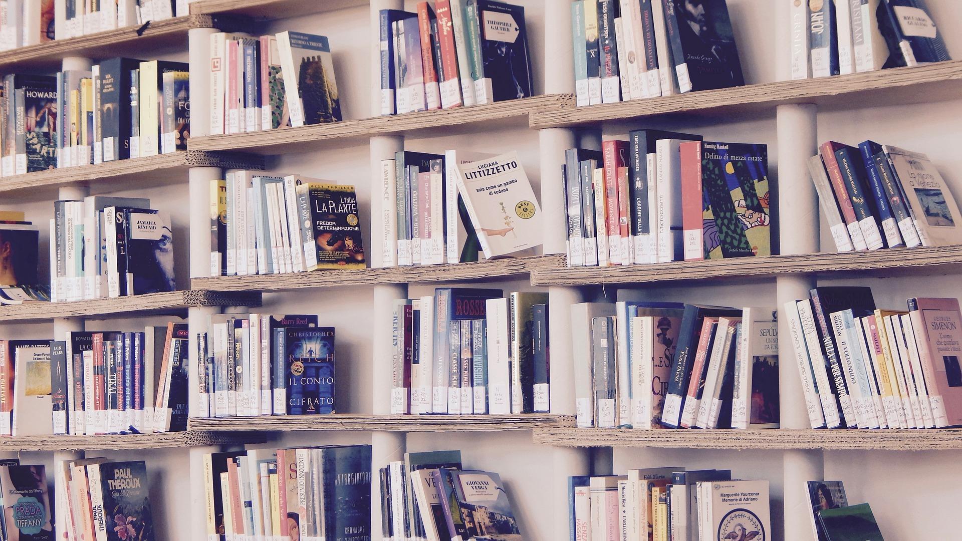 Bücher können Sie zum Beispiel bei Oxfam spenden. So erhalten Sie wieder mehr Platz in Ihren Regalen.