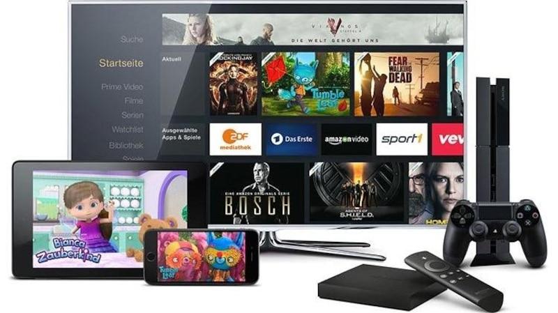 Amazon Prime Video können Sie auf vielen verschiedenen Geräten nutzen.