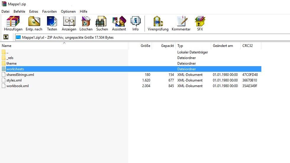 Excel-Passwort entfernen