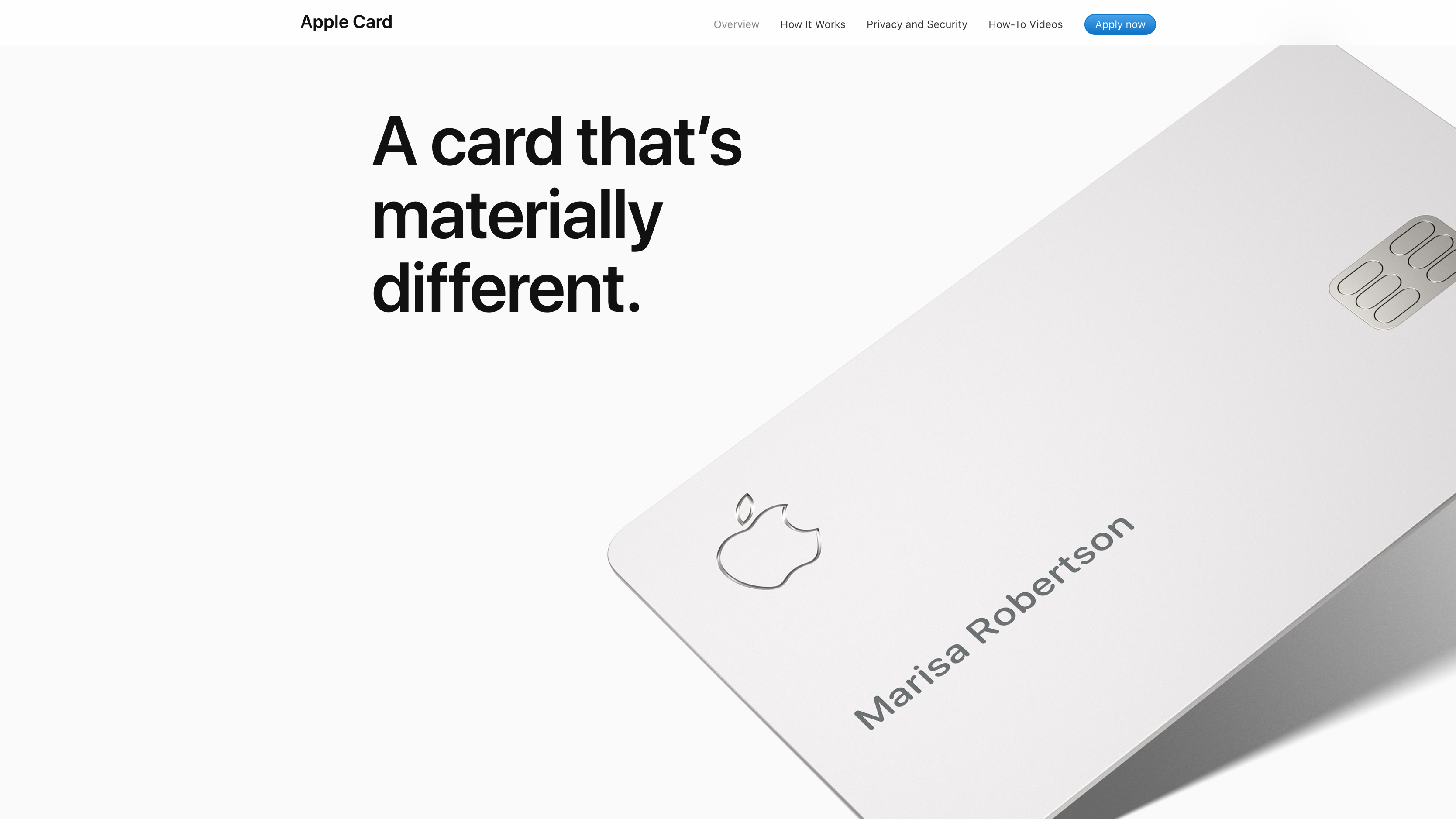 Typisch für Kreditkarten aus Metall: Die Kartennummer und der Sicherheitscode sind nicht mehr aufgedruckt.
