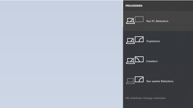 Bildschirm richtig übertragen