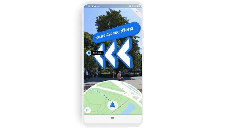 Die neueste Google Maps Funktion heißt Live View und ermöglicht Ihnen eine verbesserte Routenführung.