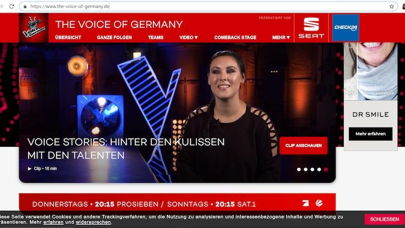 Voice of Germany im Livestream