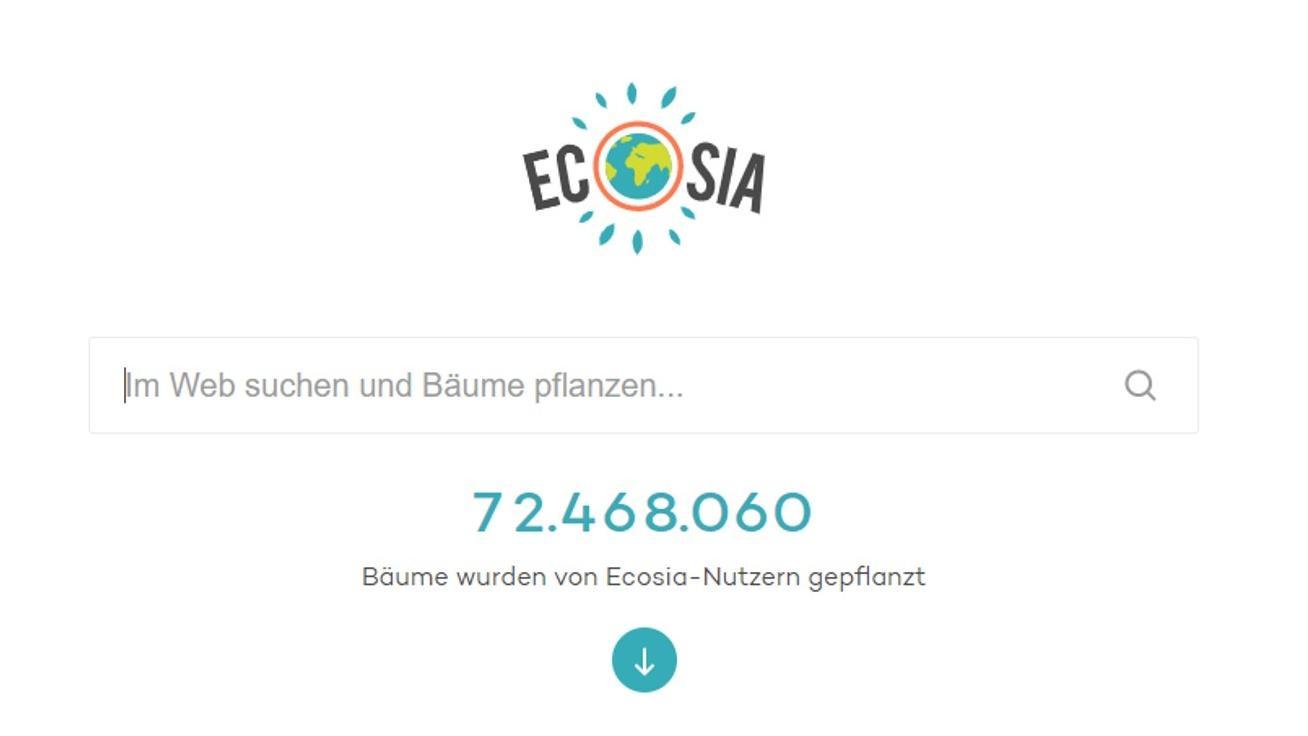 Ecosia als Startseite festlegen: So geht's
