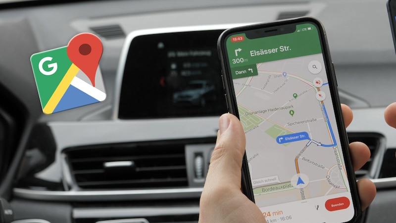 Google Maps: Fahrzeug-Icon in Navigation ändern - so geht's
