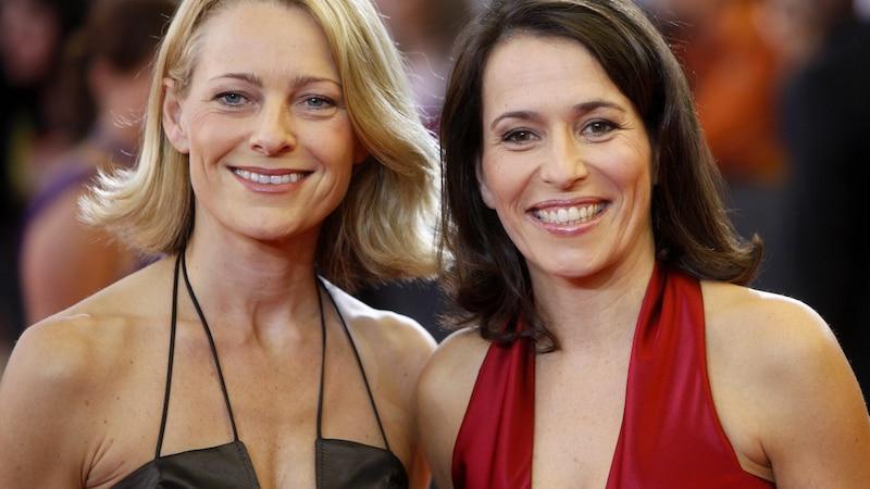 2008 in Köln: Miriam Meckel (l.) und Anne Will