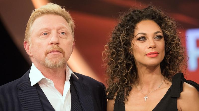März 2017: Boris und Lilly Becker