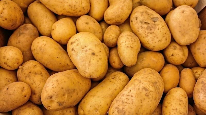 Kartoffeltaschen mit Frischkäse und Spinat - einfach und lecker