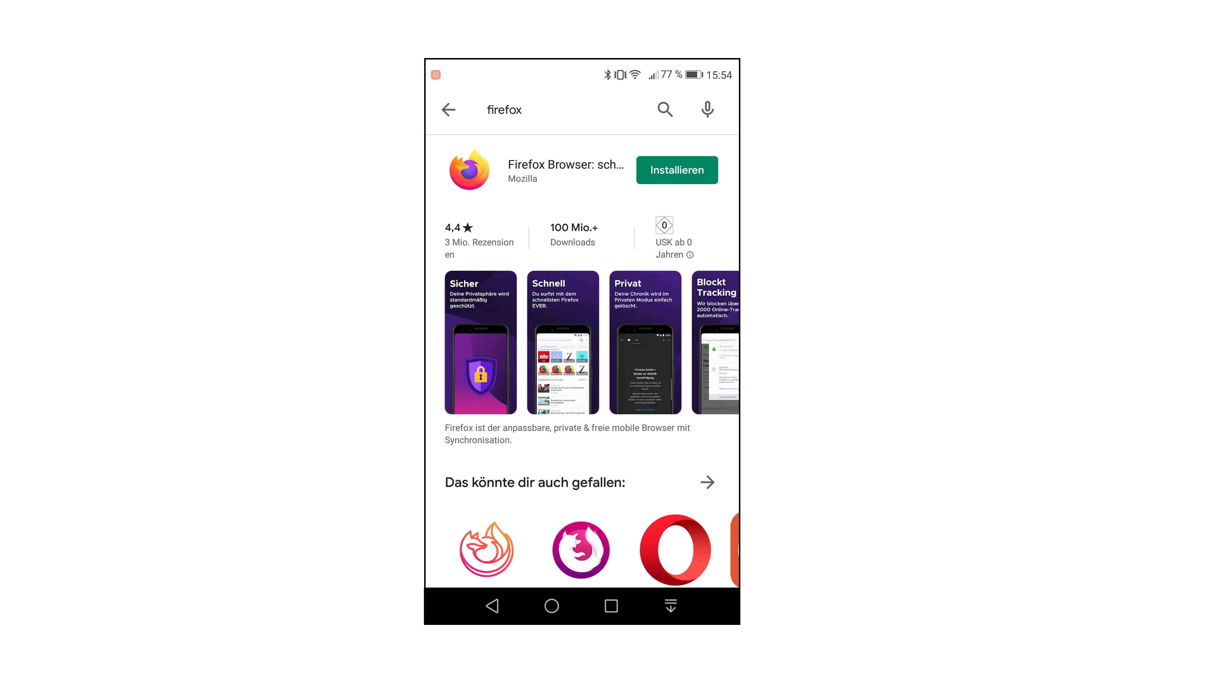 iOS & Android updaten: Firefox-App aktualisieren