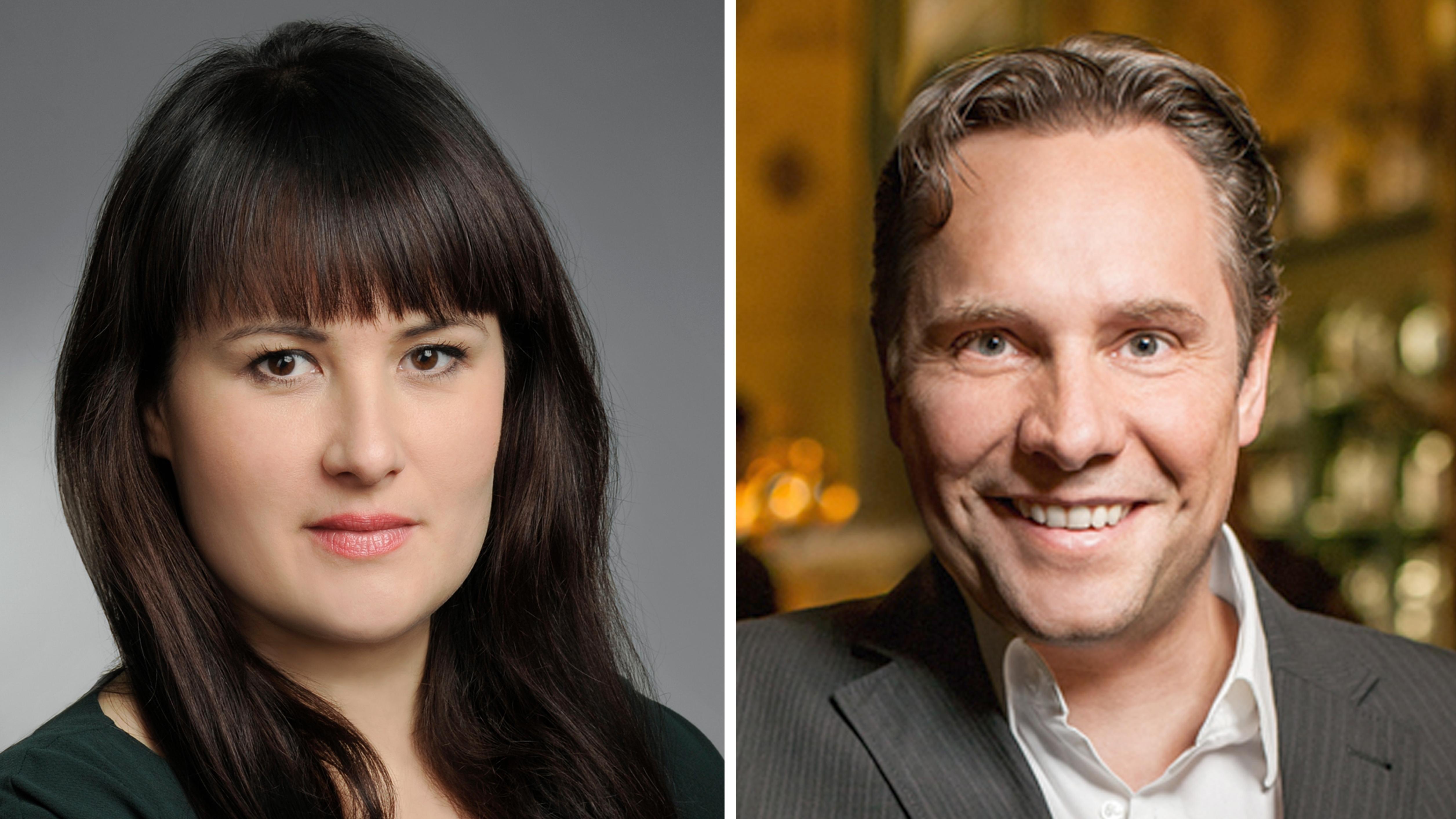 Myriam Karsch (l.) und Florian Boitin