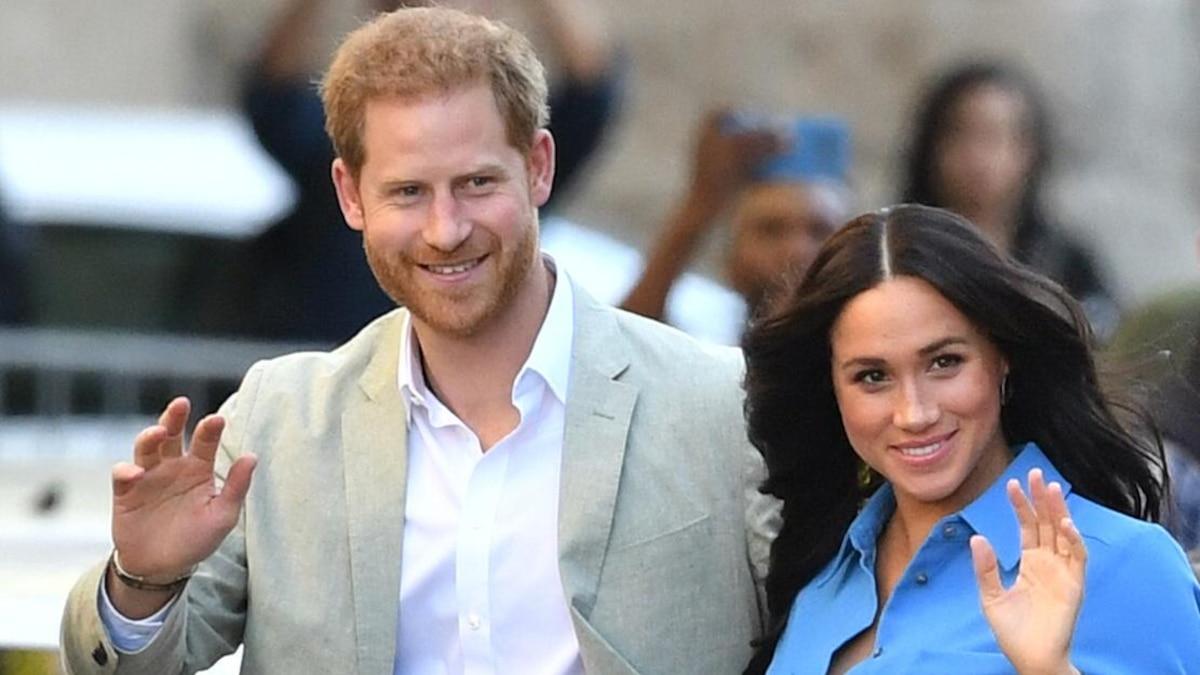 Prinz Harry, Herzog von Sussex mit seiner Meghan, Herzogin von Sussex