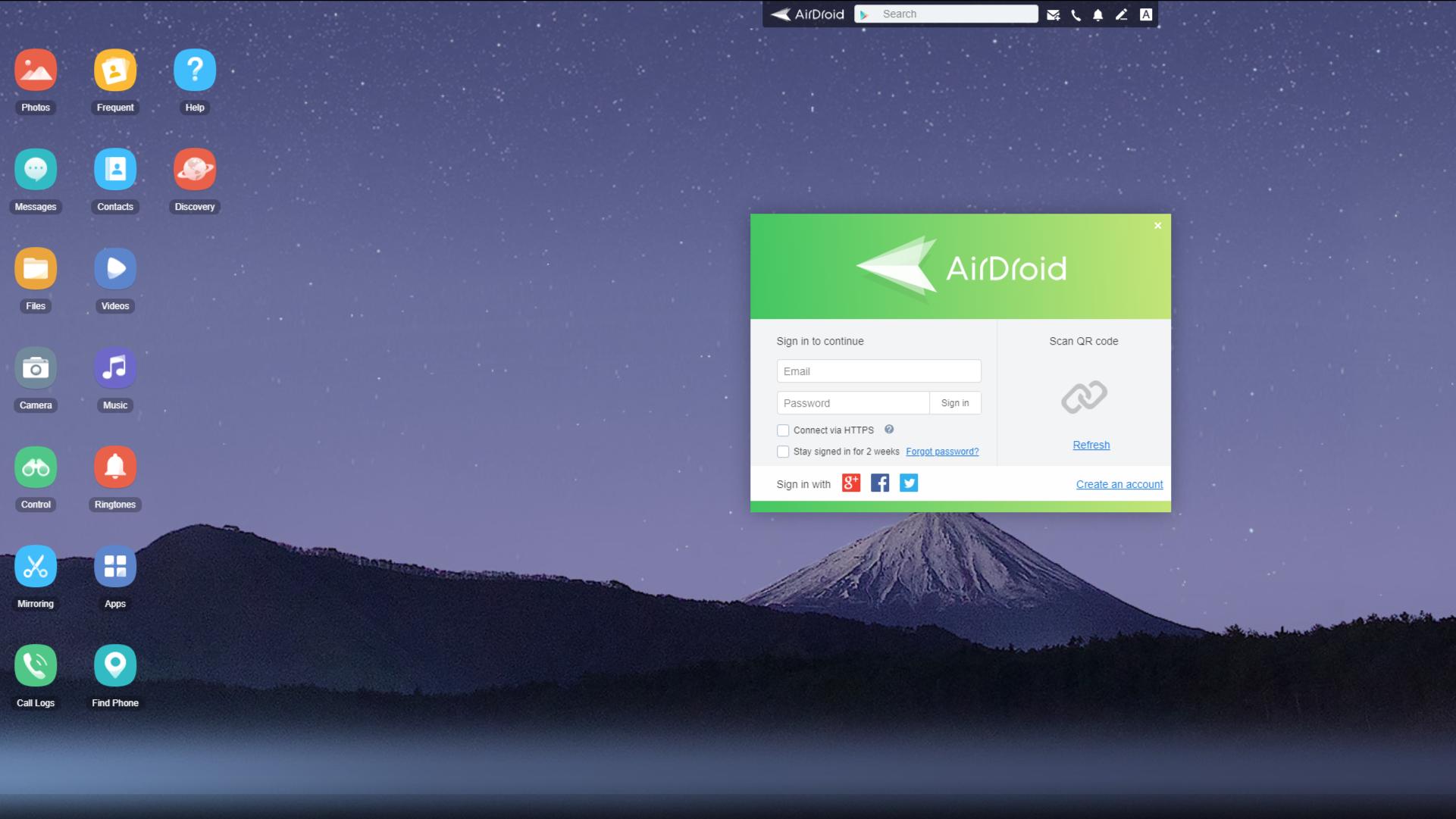 Mit der AirDroid-App übertragen Sie Daten per WLAN vom Handy auf den PC.