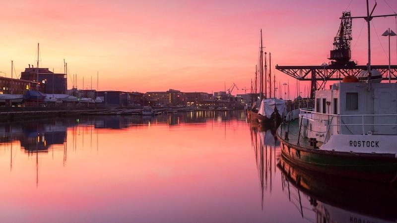 Idyllisch: der Rostocker Stadthafen