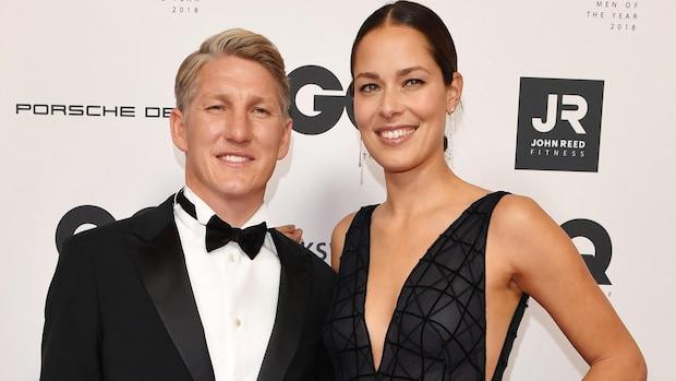 2018: Bastian Schweinsteiger und Anna Ivanovic-Schweinsteiger