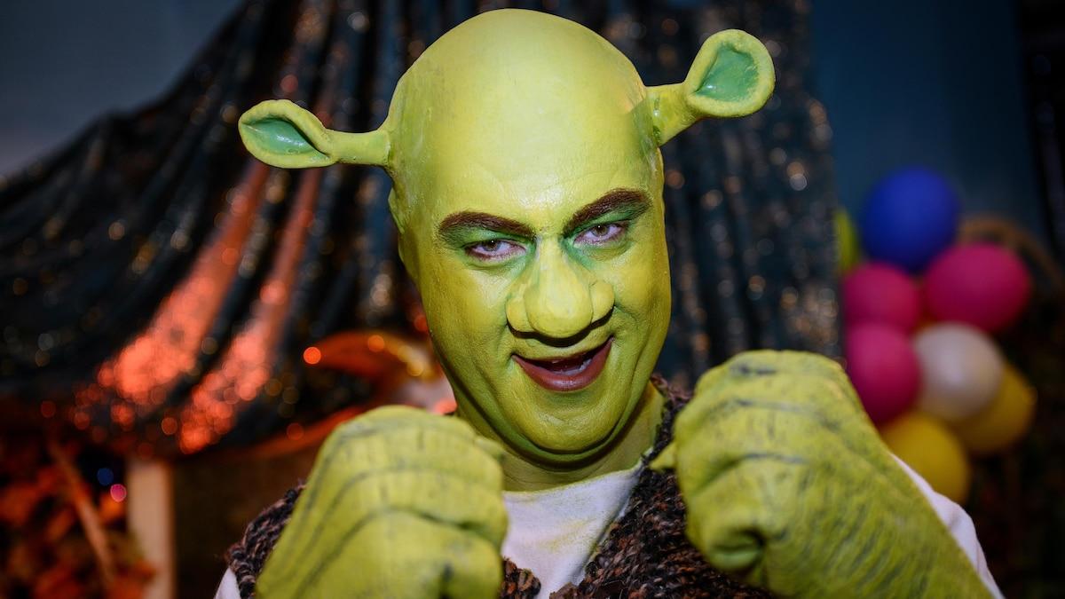 2014 verwandelte sich Söder im Fasching in Shrek