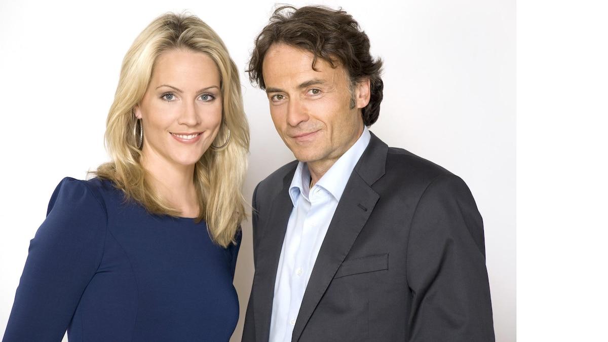 Zweites Standbein: Judith Rakers und Giovanni di Lorenzo moderieren die Talkshow