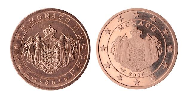 Wertvolle 2 Cent Münze aus Monaco