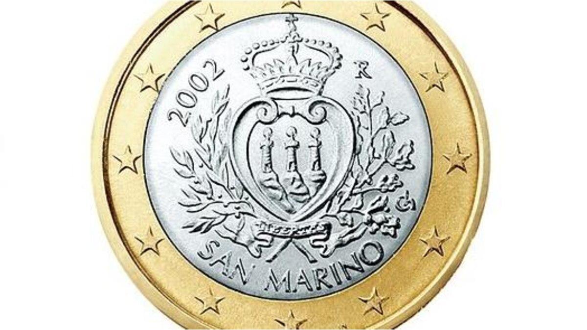 1-Euro-Münze von San Marino