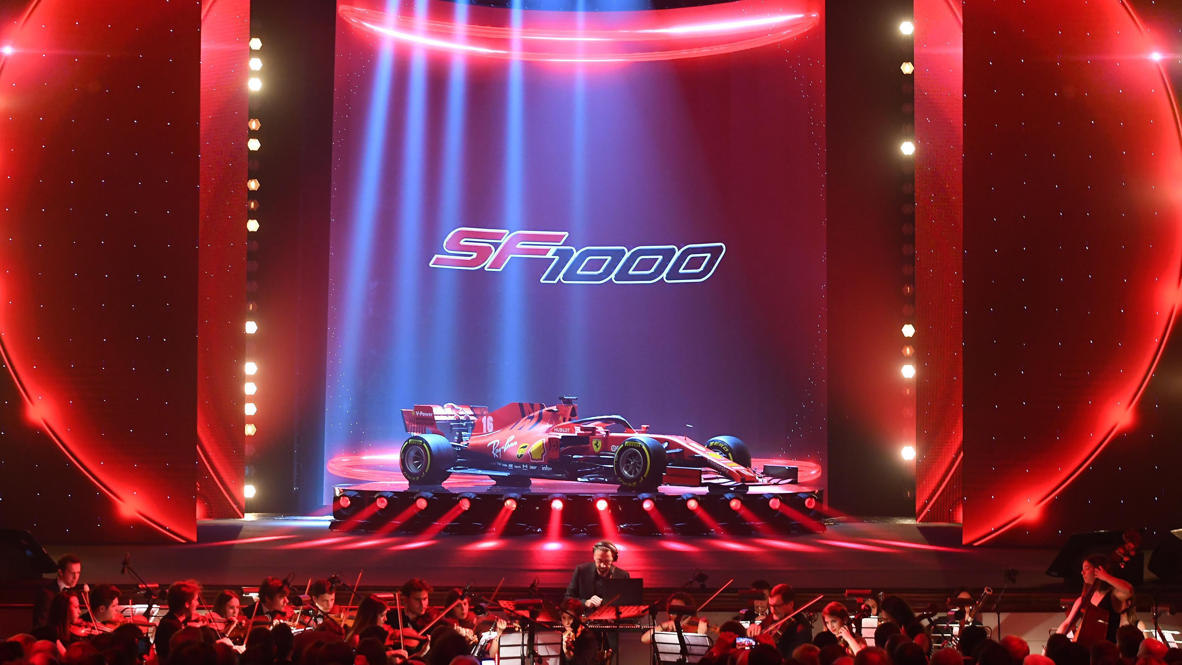 Ferrari für die Saison 2020: der SF1000