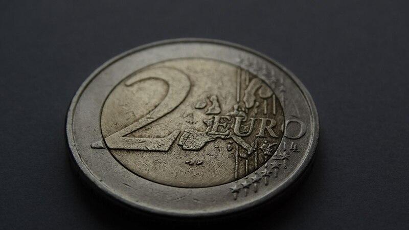 2-Euro-Münze ohne die neuen EU-Länder.