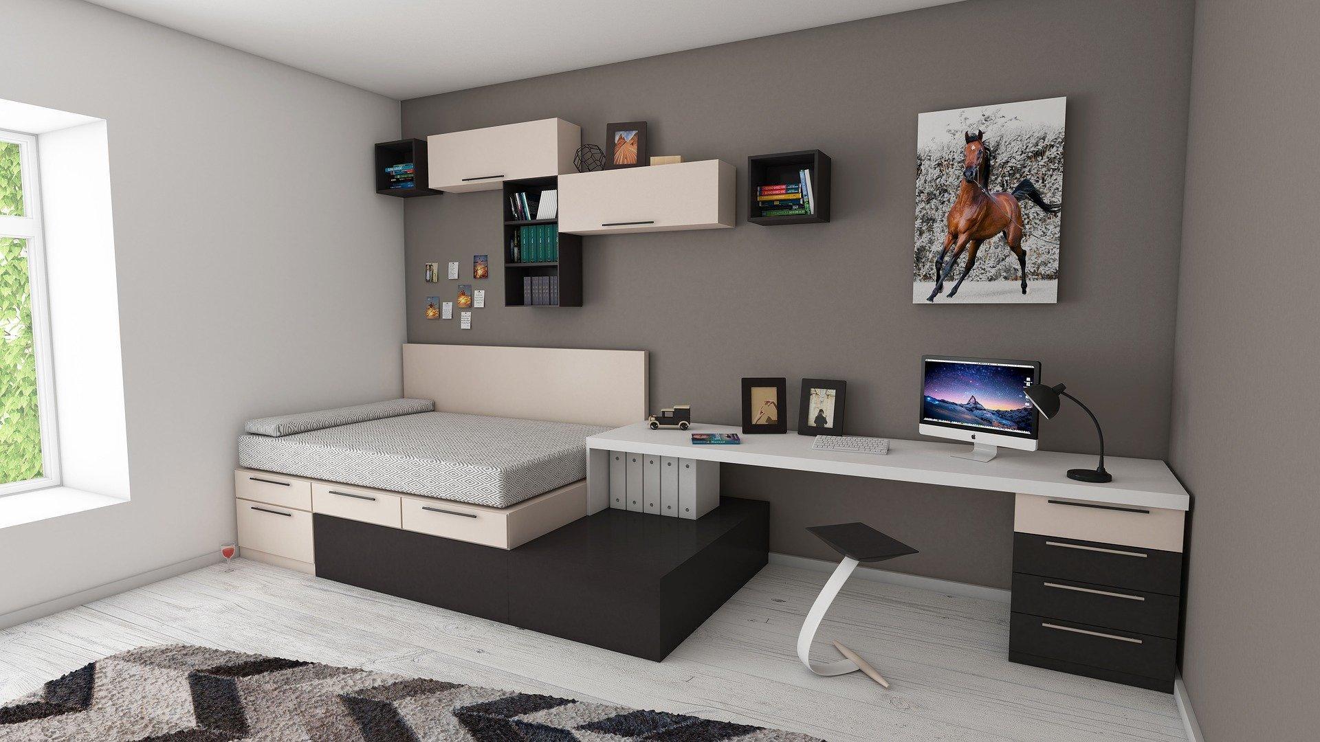 Kleine Wohnung einrichten: So sparen Sie Platz