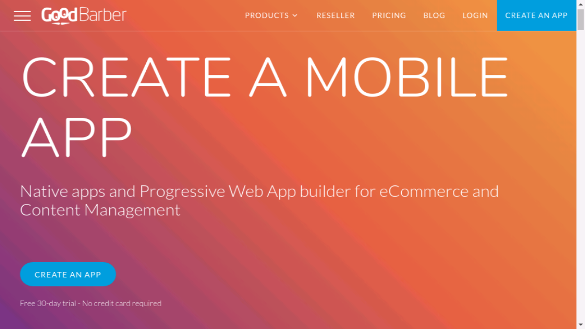 GoodBarber - diese Android-App kann auch als Webseite eingesetzt werden