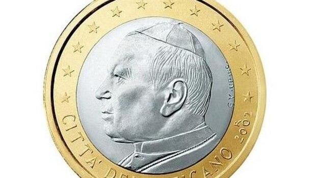 1-Euro-Münze aus dem Vatikan ab 2002