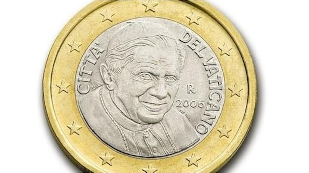 1-Euro-Münze aus dem Vatikan ab 2006