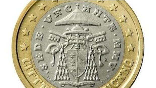 1-Euro-Münze aus dem Vatikan ab 2018