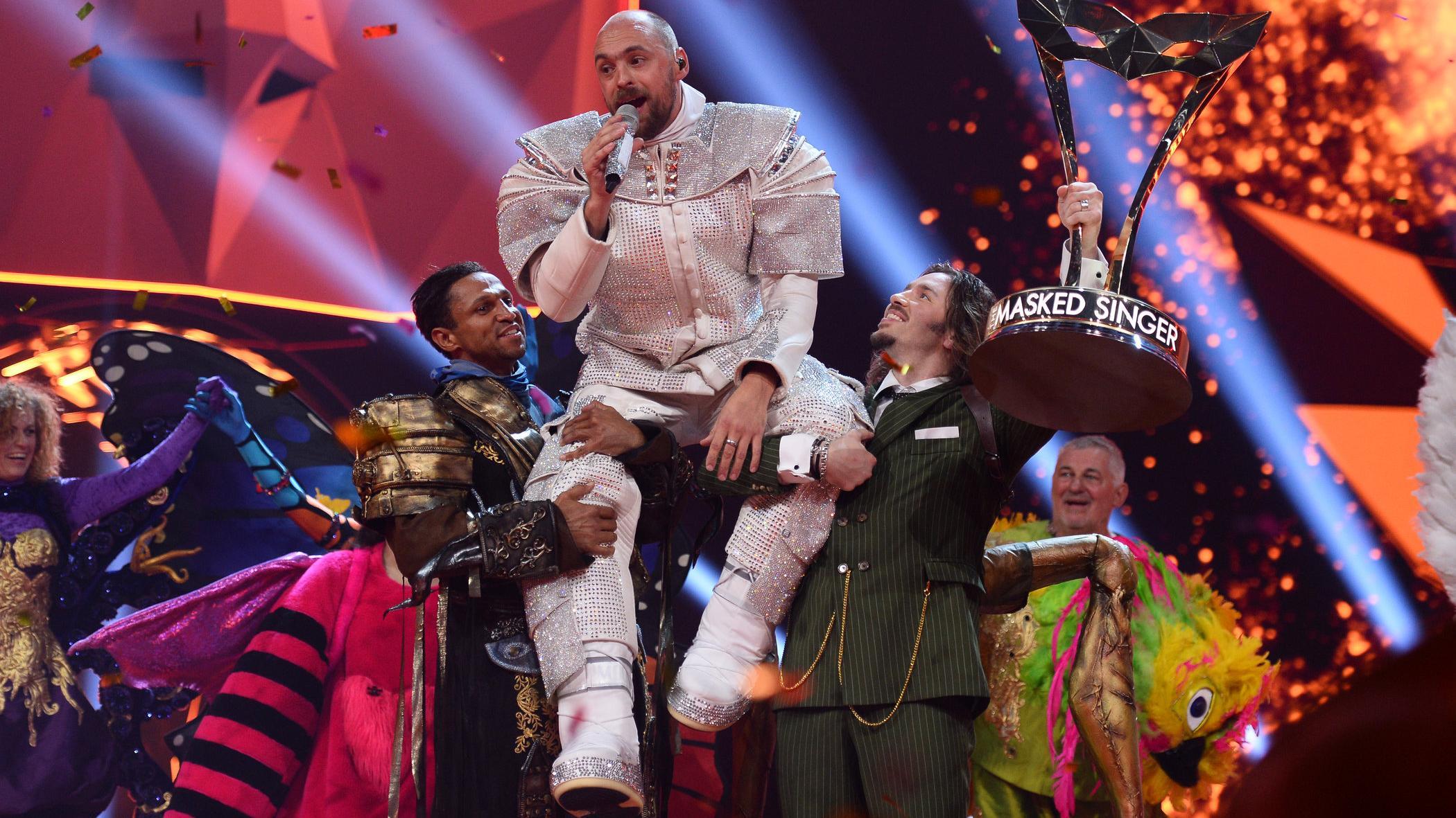Masked Singer 2019: Max Mutzke gewann als Astronaut in Staffel 1