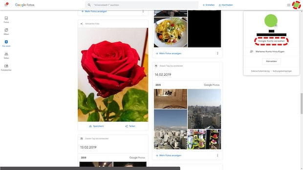 Alle Google Fotos exportieren - Schritt 1
