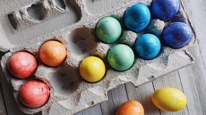 Ostereier färben mit dem Thermomix - so funktioniert's.