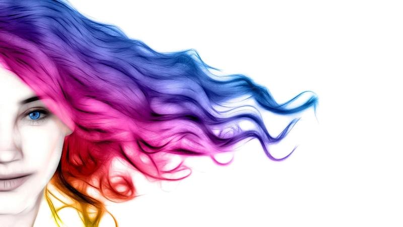 Haare entfärben, Haarfarbe entfernen  - Diese Hausmittel helfen