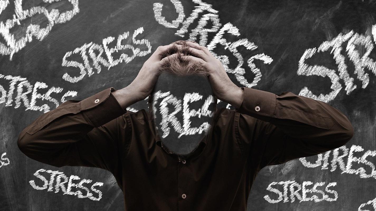Es gibt positiven und negativen Stress