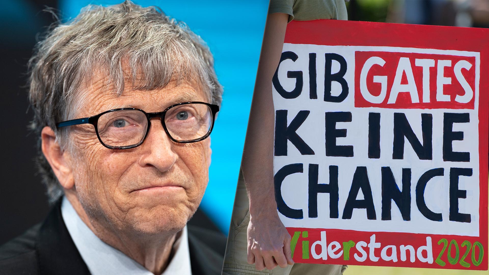 Bill Gates dient in vielen Verschwörungstheorien als Feindbild