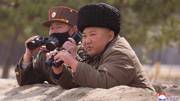 Kim Jong-Un ist ein Waffennarr und beobachtet gerne Raketentests.