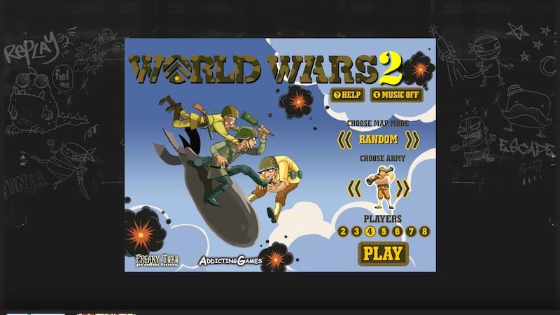 Screenshot von World Wars 2