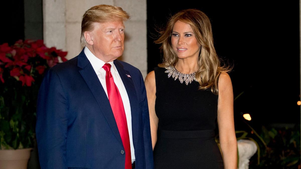 Donald Trump mit Frau Melania
