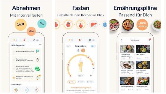 Mit Fasten Abnehmen durch die Fastic App.