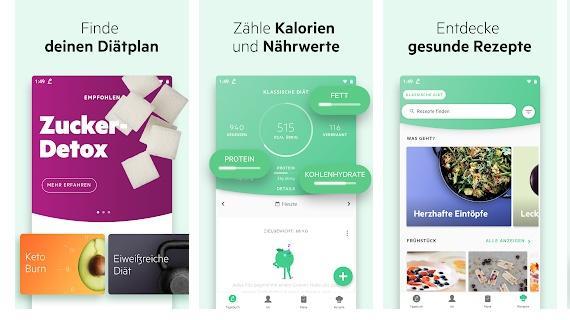 Lifesum ist eine praktische App zum Abnehmen.
