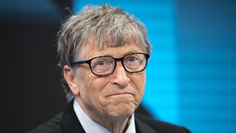 Bill Gates - soviel verdient der Microsoft-Gründerl.