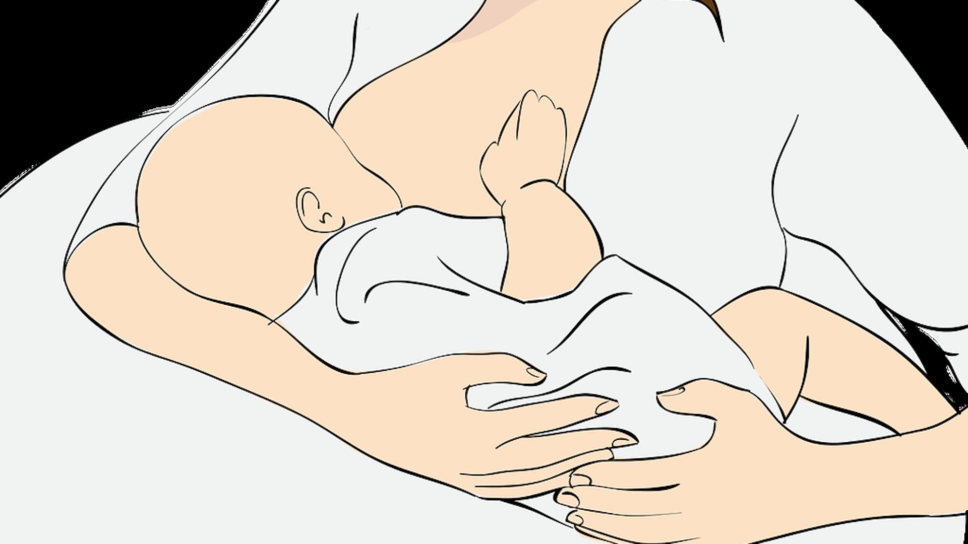 Brust ausstreichen: Tipps und Anleitung