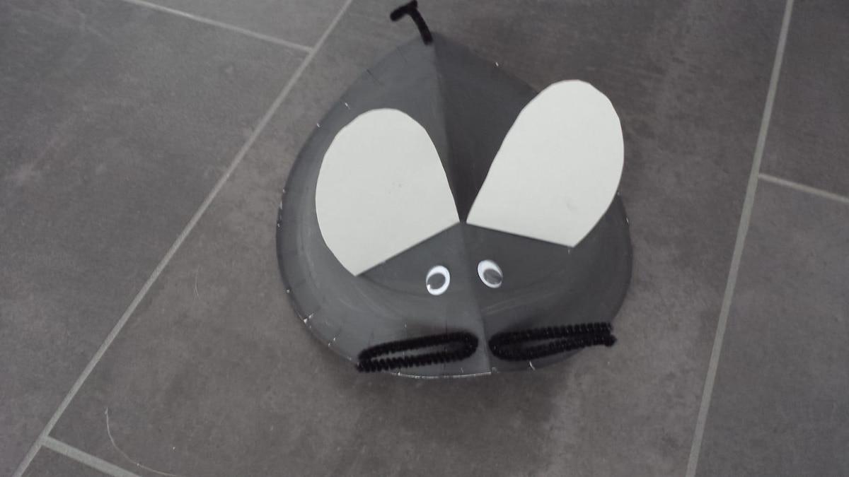 Schnurrhaare und Wackelaugen machen die Maus komplett