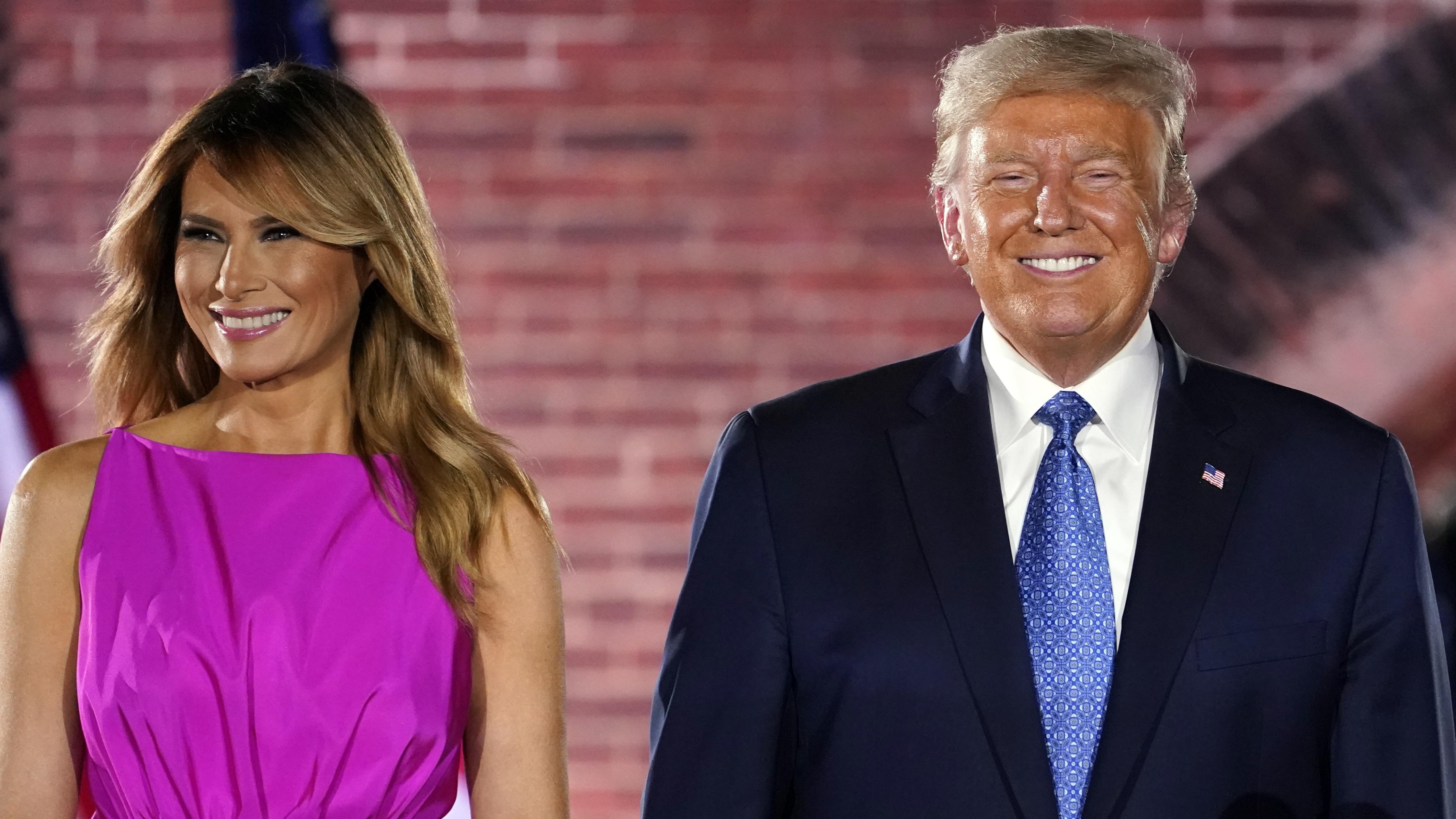 First Lady Melania und POTUS Donald Trump