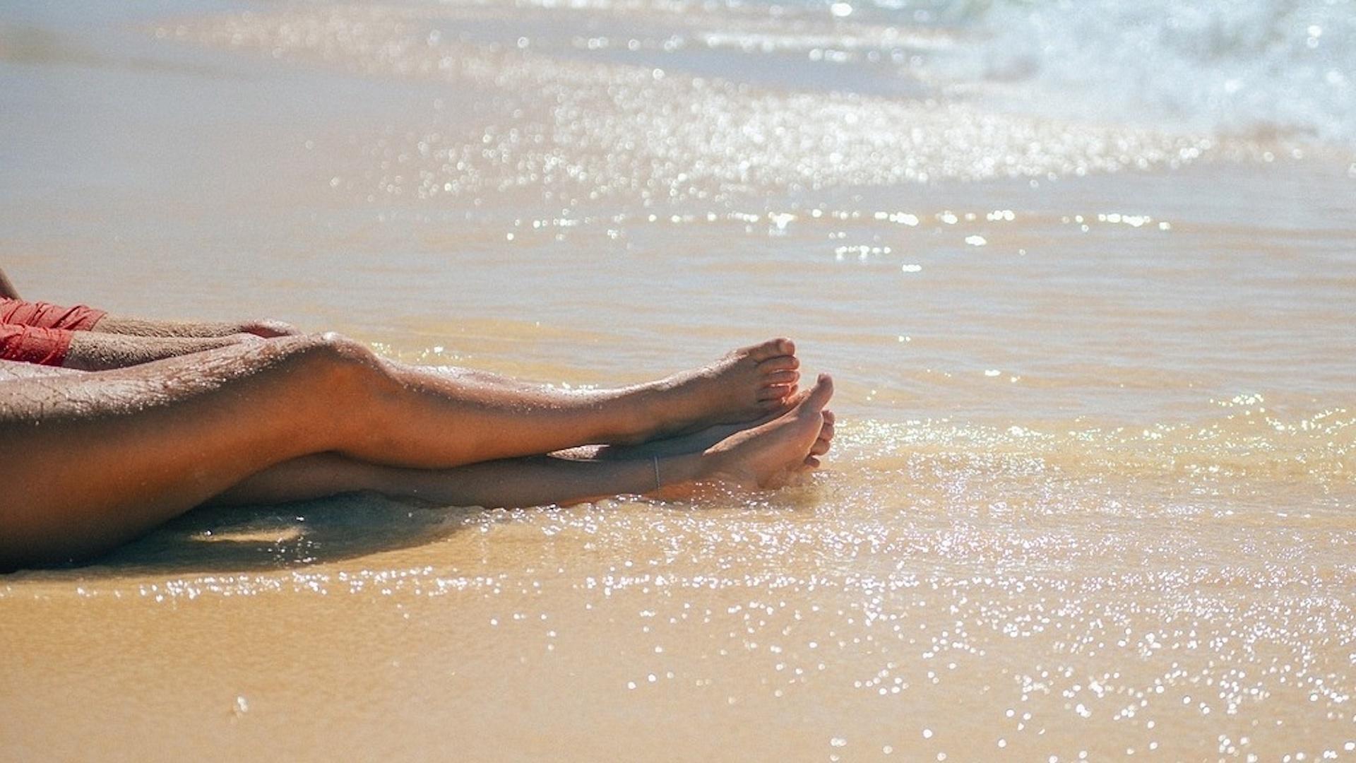 Punkte an den Beinen - so rasieren Sie richtig
