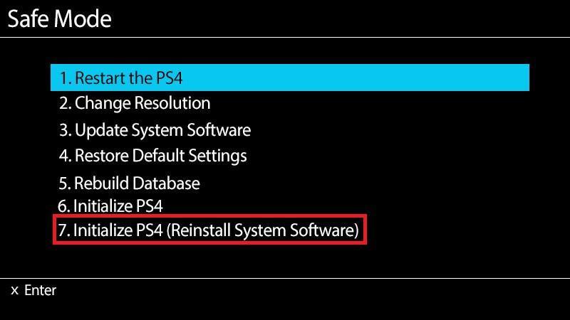 Um die Systemsoftware neu zu installieren, wählen Sie
